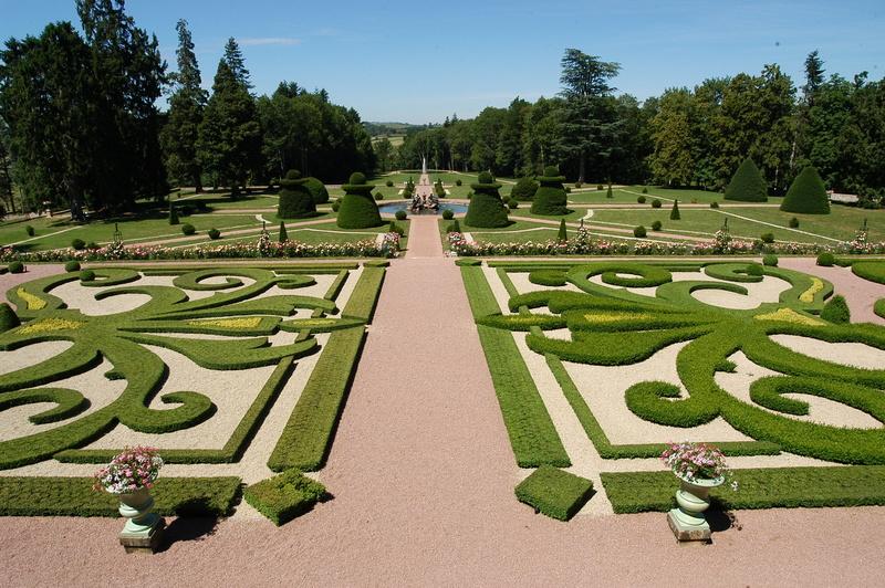 Les jardins du Château de Drée