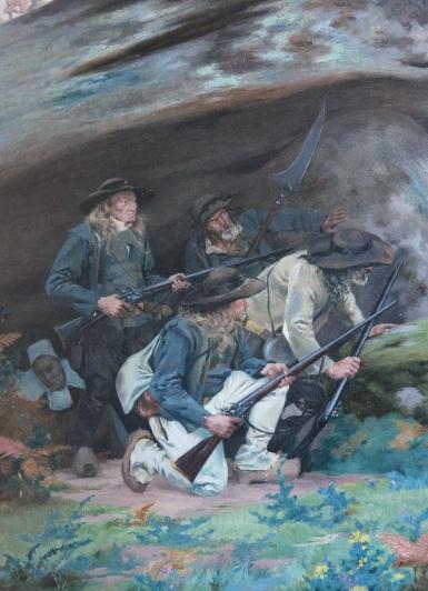 Musée des Guerres de l'Ouest -Vendée-Chouannerie-Le débarquement de Quiberon