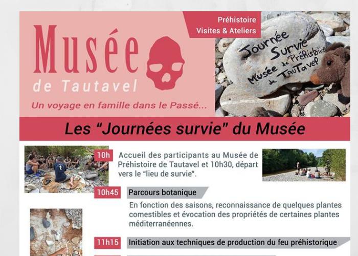 Musée de Tautavel Journée survie