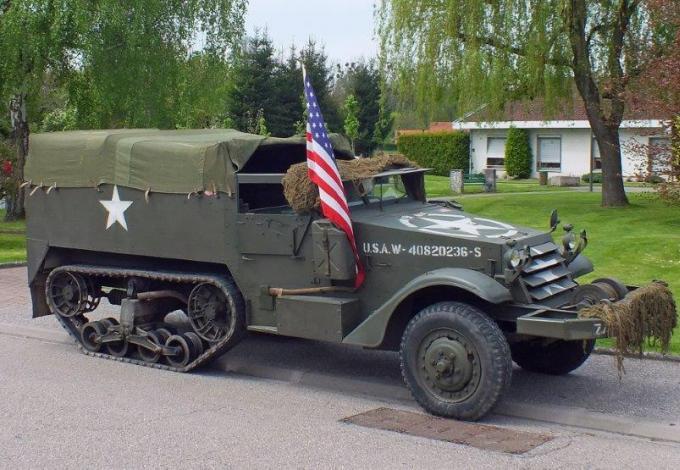Half-track US de 1942